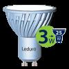 Светодиодная лампа Leduro LED 3W GU10 3000K PAR16