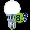 Светодиодная лампа Leduro LED 8W E27 3000K A55