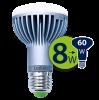 Светодиодная лампа Leduro LED 8W E27 3000K R63