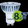 Светодиодная лампа Leduro LED 8W GU10 3000K PAR16