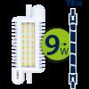 Светодиодная лампа Leduro LED 9W R7s 3000K R7s