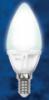 Светодиодная энергосберегающая лампа UNIEL LED-C37-4W/WW/E14/FR CRF01WH