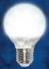 Светодиодная энергосберегающая лампа UNIEL LED-G60-5W/WW/E27/CRF01WH